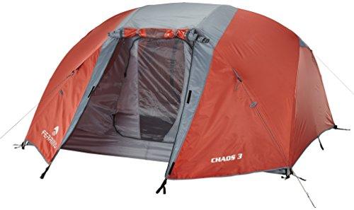 Ferrino Chaos 3 Tenda Lite, Rosso, 3 posti