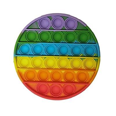 Pandiui23 Juguete Antiestrés Sensorial Juego Explotar Burbujas Autismo Ansiedad Fidget Niños Necesidades Especiales Relajante Adultos Original Divertido Push Pop Pop Bubble Game (Multicolor) de dert