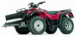powerful Warning 79403 Powersports ATV Front Kit Snow Slow Mount