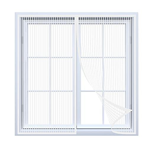 Mosquitera magnética para puerta y ventana. Se cierra autom