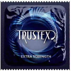 Trustex Extra Strength Condoms Lubricated - 100pk