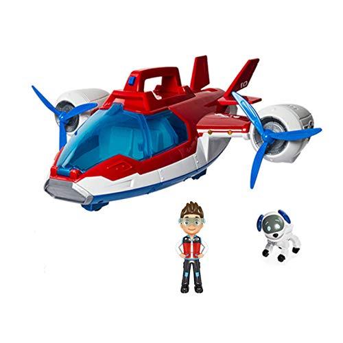 NC Pat Patrouille Jouets Avion Yacht Robot Chien Capitaine Ryder Ferry Bus Tour De ContrôLe Musique Figurines Jouets pour Enfants S