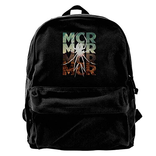 My Chemical Romance Danger Date Drawstring Backpack Bag Gym Dance Bags Gift for Girls Daughter Boy Birthday Gift for Kids Teen 14.2 x 16.9 Inch