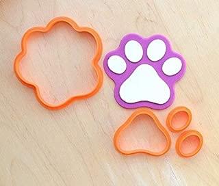 Dog Paw Fondant Cutter Set (2.0 x 1.9 inches)