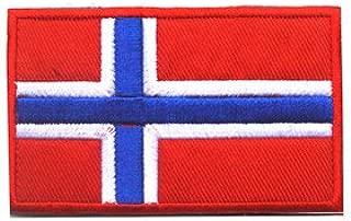Best norwegian flag velcro patch Reviews