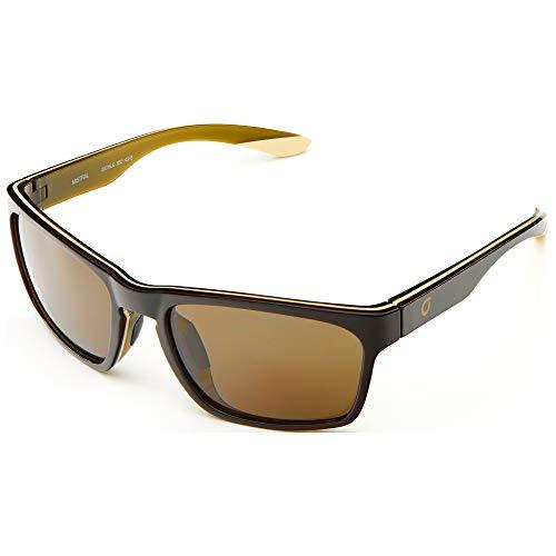 Briko Mistral Color HD Gafas Sol Casual, Unisex Adulto, Shiny Brown, One