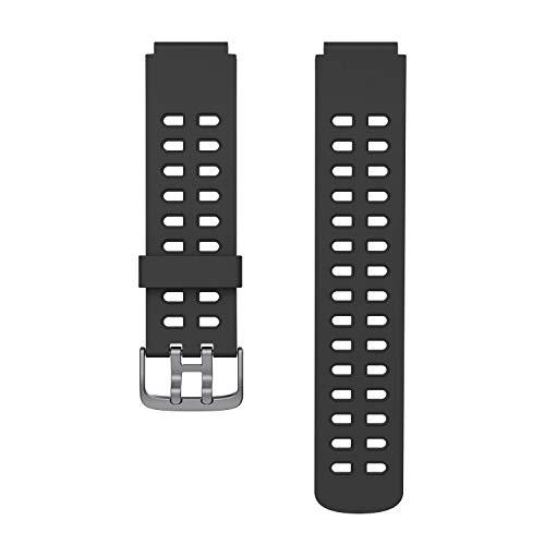 Fitpolo vervangende bandjes Band voor ID205L Smartwatch (zwart)