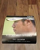 2021年松山英樹プロゴルファー カレンダー