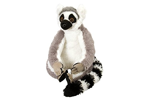 Wild Republic Ring Tailed Lemur Plush Stuffed Animal Plush Toy Gifts for Kids Cuddlekins 12 Inches