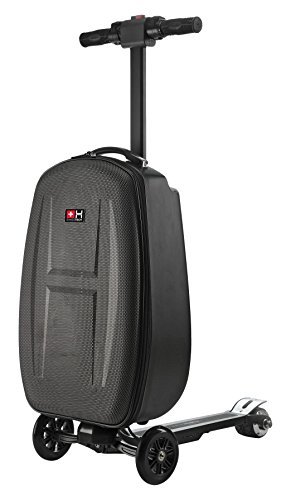 Helvei Elektroroller Smartmove Suitcase & Backpack 3-in-1 – Schwarz