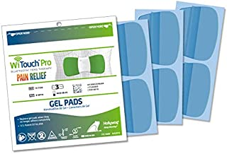 WiTouch Pro and Aleve Direct Therapy TENS Gel Pads Refills - 1 Pack of 6 Pads