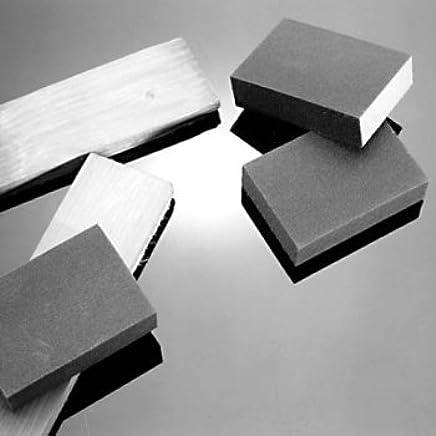 Yardwe 2pcs Sanding Sponge Block Abrasive Pad for Furniture Wall Floor Grinding Kitchen Cleaning Hand Tool