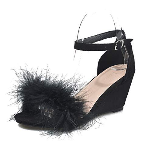Sandalias Mujer Verano 2021 cuña Bohemias Casuales Zapatillas Hebilla Romanas Flip Flop Mares Playa Gladiador Verano Tacon Planas Zapatos