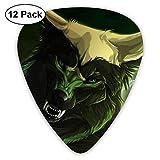 Púas de guitarra clásica Fantasy Wolf Moon Plectrums Instrument