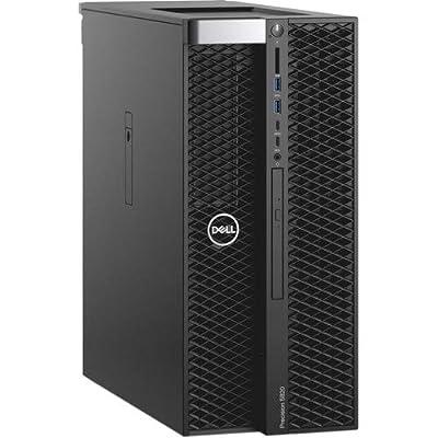 Dell Precision 5820 Tower Workstation - Intel Core i7-9800X 3.8GHz - Quadro P2000-512GB SSD - 32GB DDR4 - Windows 10 pro - Pro Support