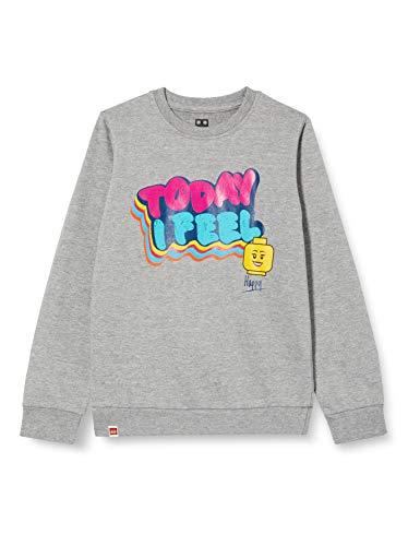 LEGO Mädchen MWc Sweatshirt, 921 Grey Melange, 152
