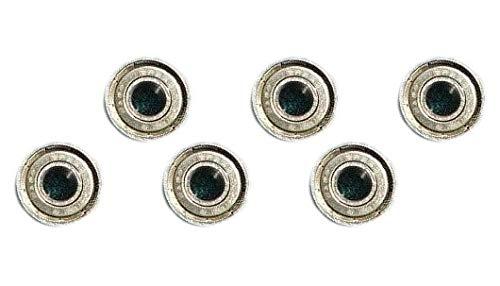 6 (Six) Guide Bearing Set Fits Sears Craftsman 119.224000 Band Saw