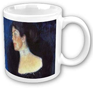 Portrait of Rose Von Rosthorn Friedmann by Gustav Klimt Coffee Cup