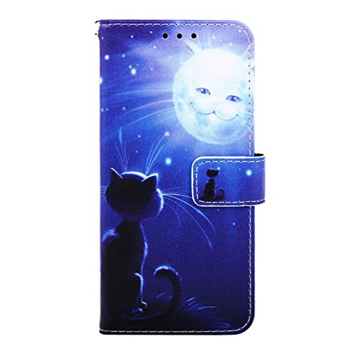 Lederhülle für Samsung Galaxy A10 Flip Hülle Wallet Hülle Handyhülle PU Leder Book Handytasche für Samsung Galaxy A10 Handy Hüllen Silikon Schutzhülle Tasche Brieftasche Etui Kartensteckplätzen