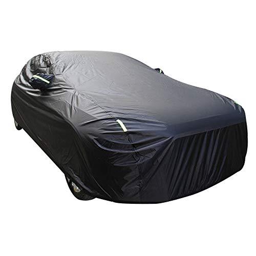 ERQINGCZ Wasserdichte Autoabdeckung Auto Abdeckungen Wasserdicht Sonnenschirm Sonnenschirm Funda Für Peugeot 508 607 Vw Passat B5 Ix25 Tesla Modell Auto Versenkbare Vorhang