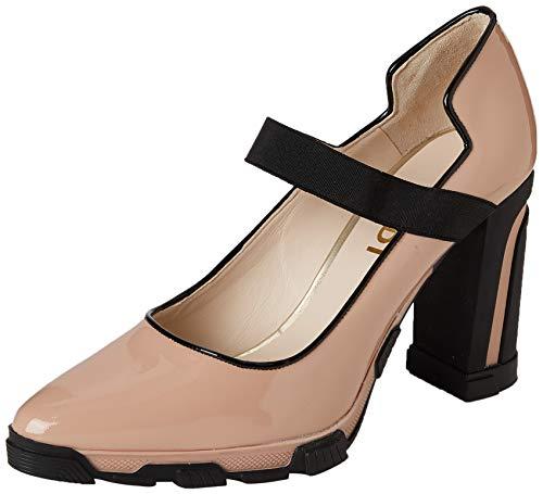 lodi URISA, Zapatos de tacón con Punta Cerrada para Mujer, Multicolor (Charol Rubor Charol Rubor), 40 EU