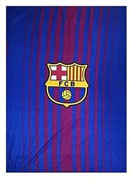 Couverture polaire FC Barcelone 170 x 130 cm