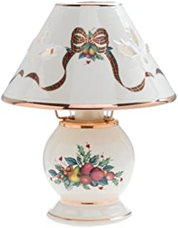 Lenox Holiday Tartan Candle Lamp