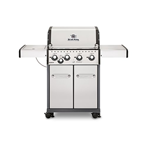 Broil King 922564 Baron S440 Liquid Propane Gas Grill  - a Amazon Assembly Eligible for Free garden Gas Grill Grills Home lawn Monthly patio Payments Products Select Service Services Through UDS with