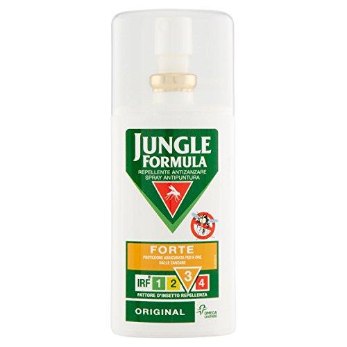 bracciale uomo 50 centesimi Jungle Formula Forte Repellente Antizanzare