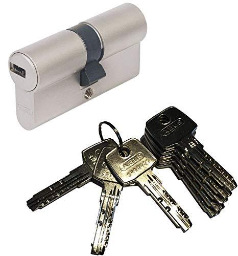 ABUS EC550 Profil-Doppelzylinder Länge (a/b) 30/45mm (c=75mm) mit 8 Schlüssel