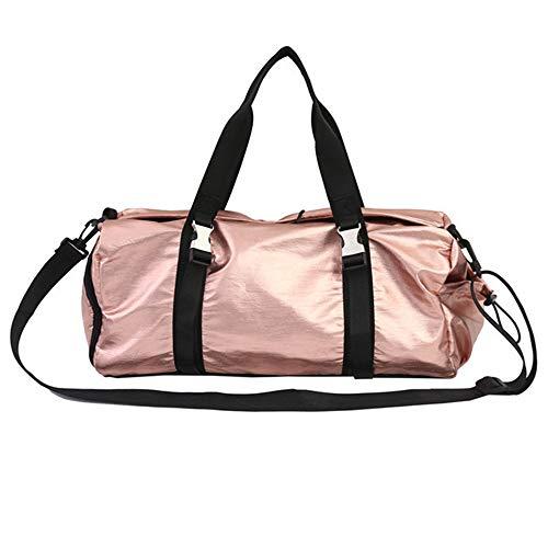 Yuqianqian Large Sports Bag Running Bag Dry Wet Separated Gym Bag Sport Gym Holdall Bag Training Handbag Yoga Bag Travel Overnight Weekend Shoulder Tote Bag For Man And Women for Men Women