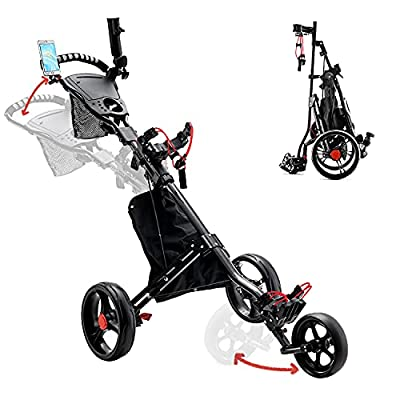 PIAOMTIEE Wheel Golf Push