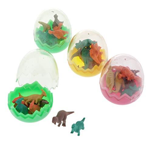 harayaa 28x Lindos Dinosaurios Goma de Borrar de Colores para
