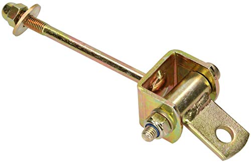KOTARBAU Gancho para columpio de 118 mm, rodamiento de bisagras, dispositivo de juego, fijación para columpio, gancho para hamaca, acero galvanizado, color dorado y amarillo