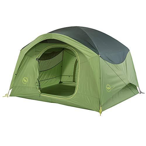 Big Agnes Big House Camping Tent, Green, 4 Person
