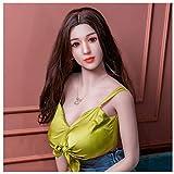 男性用インフレータブル人形リアルな女性の人形半固体人形、大人の娯楽製品は、任意の姿勢を練習できます(個人配達)160cm 165cm-QINGLI-165CM