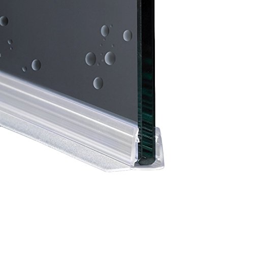 200cm EC-8-404 Guarnizione Box Doccia con Gocciolatoio per vetri di spessore da 6 e 8 mm