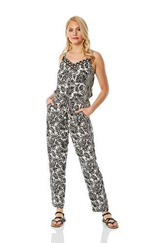 Roman Originals dames jumpsuit met bloemenprint - dames jumpsuit, overdag, vakantie, zomer, speciale gelegenheden, bruiloften, doopfeesten, casual elegant, lente, zomer