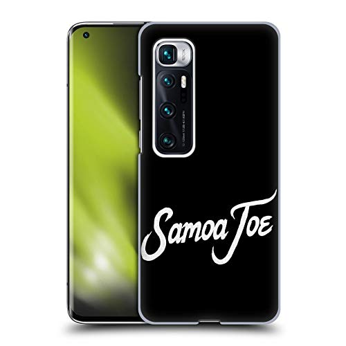 Head Case Designs Officially Licensed WWE Logo Samoa Joe Hard Back Case Compatible with Xiaomi Mi 10 Ultra