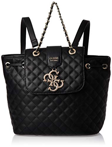 Guess Borsa zaino mod. Miriam backpack in ecopelle trapuntata nero donna B20GU59