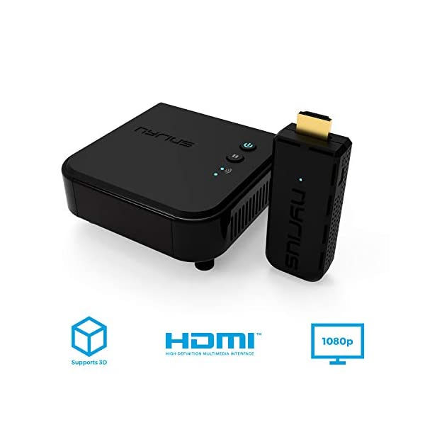 Wireless Video HDMI Transmitter & Receiver for Streaming HD 1080p 3D Video & Digital Audio from Laptop, PC, Cable, Netflix, YouTube, PS to HDTV/Projector (NPCS549) 6