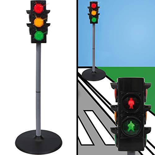 Verkehrszeichen / Verkehrsschilder Set Spielzeug Ampel Schilder Kinder Verkehrserziehung (Ampelanlage)