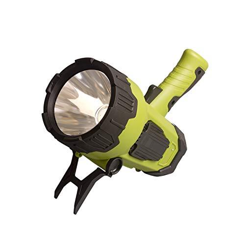 Qagazine Linterna LED recargable de trabajo, linterna de mano impermeable para niños, linterna de seguridad, lámpara de camping para viajes, senderismo