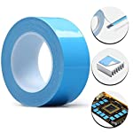 Tintvent Thermal Double Side Tapes,25Mx30mm,Heat Sink Tape,Thermal Adhesive Tape,Thermal Conductive Tape for LED Light,Heat Sink,Computer CPU, GPU Cooler,PC and More, Electrically Insulated (30MMX25)