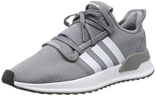 adidas Herren U_Path Run Sneaker, Grau (Grey/Footwear White/Core Black 0), 44 2/3 EU
