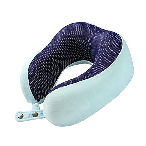 SSXPNJALQ G99F U Almohada en Forma de Almohadas cómodas Almohadas de Cuello de Viaje de Espuma Suave de Espuma Ligero de Descanso para Dormir alojamiento