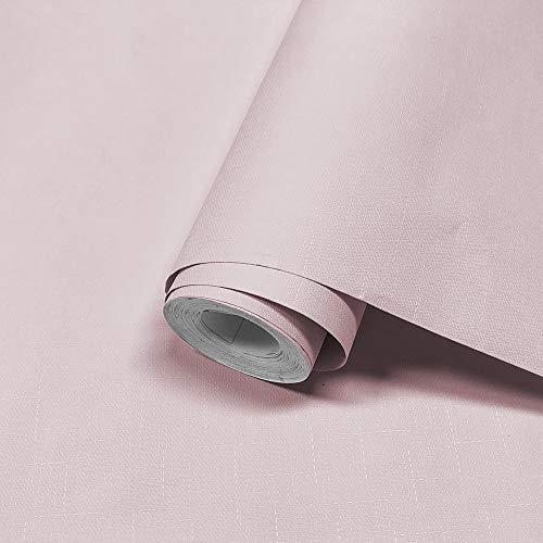壁紙シール YYT 無地 壁紙シート リメイクシール リメイクシート リフォームシール リフォームシート 模様替え 多用途 はがせる 7色 60cm×10M 一巻 厚手 防水 防汚 防カビ 耐熱 のり付き おしゃれ ライトピンク