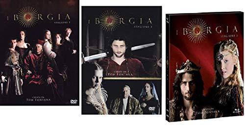 I Borgia - Stagione 01-02-03 (13 Dvd) Edizione Italiana