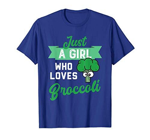 Just a girl who likes Broccoli Maglietta