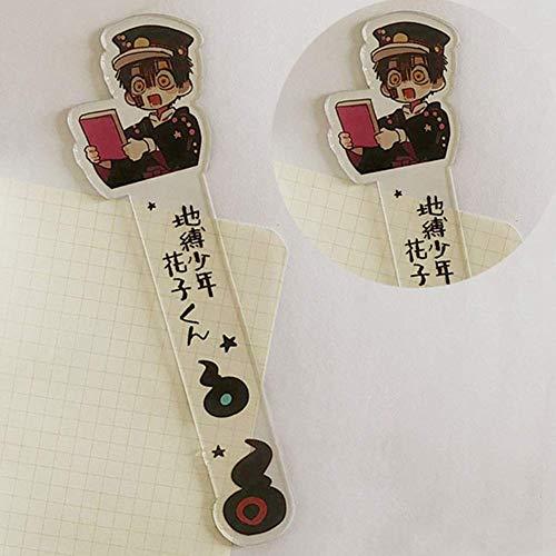 SOSPIRO Anime Toilet-Bound Hanako-Kun Lesezeichen, Manga Acryl Lesezeichen Ideales Geschenk Für Freunde Und Familie - Stil 02